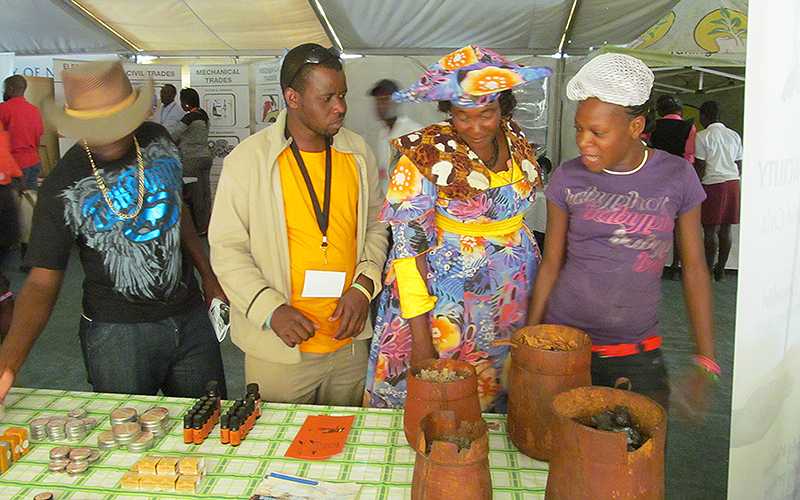 Opuwo Processing Facility at the Opuwo Trade Fair
